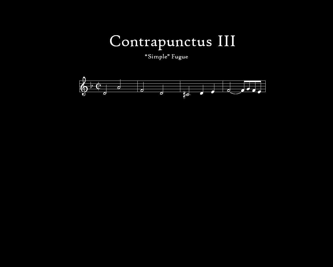 The Lynn University Wind Ensemble performs Contrapunctus 3.