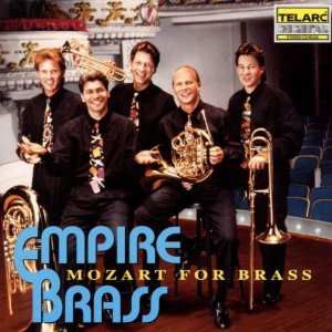 Mozart for Brass CD